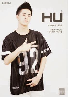 member termudanya ialah Hu resmi keluar beralasan selara musiknya berbeda dan akan fokus  N.O.M
