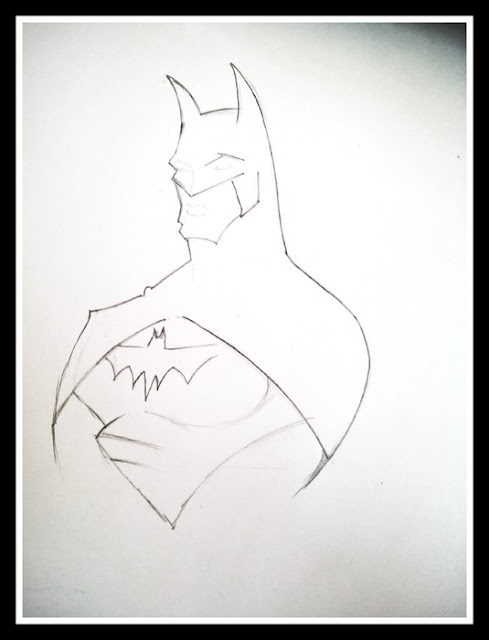 How to Draw Batman Logo