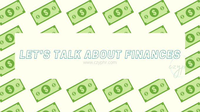 Let's Talk About Finances | Money 2020