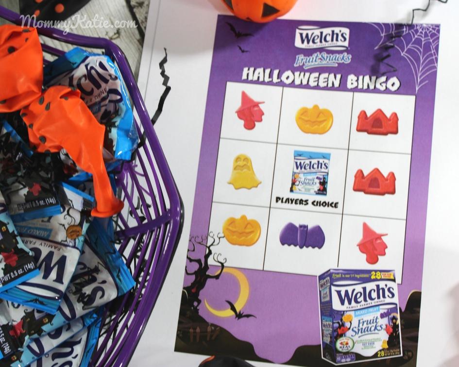 Halloween Fun with the Welch's Halloween Fruit Snacks