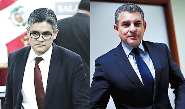 Rafael Vela y José Domingo Pérez esperan que apelación sea vista a la brevedad por Junta de Fiscales Supremos con inhibición de Pedro Chávarry.
