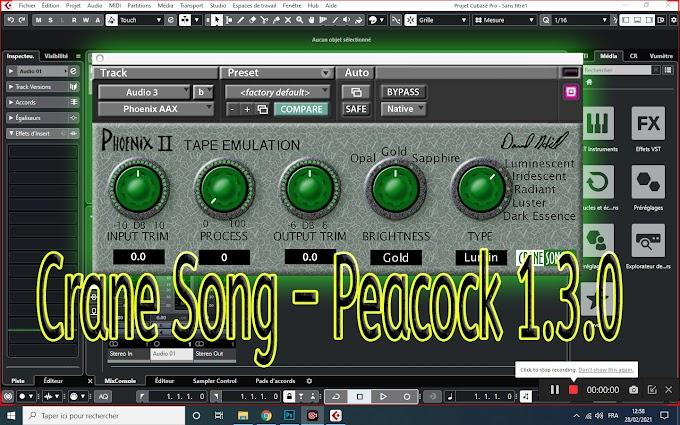 Crane Song – Peacock 1.3.0 (AAX) [WiN x64]