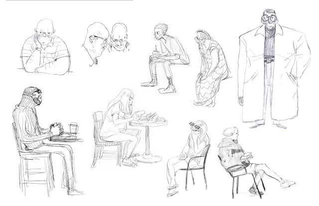 Character Design Quarterly 2 Visual Development : Jeeyoon park portfolio visual development