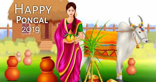 Create Your Happy Pongal image - Best Pongal 2019 wishes Application