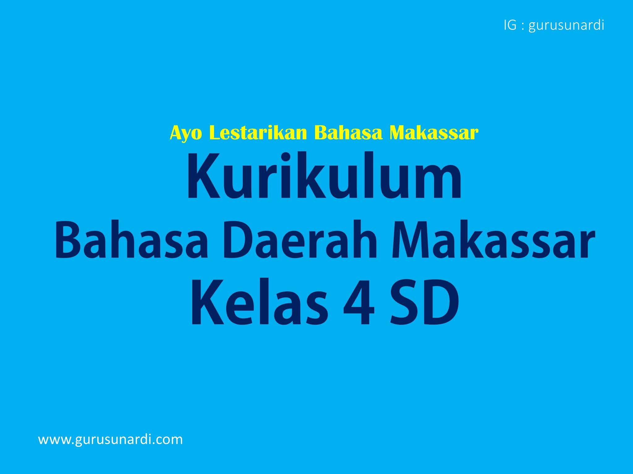 Percakapan Bahasa Makassar Sehari Hari