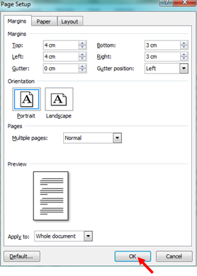 Cara Mengatur Margin Sebuah Dokumen