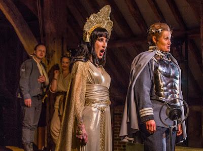 Handel: Giulio Cesare - Marie Lys, Helen Sherman - Bury Court Opera (Photo Simon John)