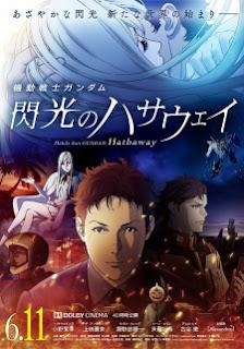 فيلم انمي Mobile Suit Gundam: Hathaway's Flash مترجم بعدة جودات