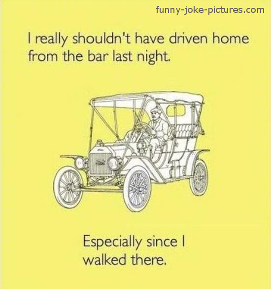 Funny Drunk Driving Joke Caption Meme
