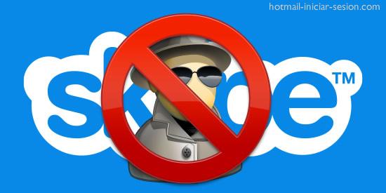 bloquear usuario de skype
