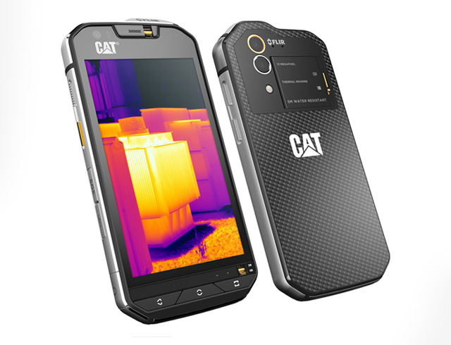 cat s60 is world s first smartphone with thermal camera in a rugged body. Black Bedroom Furniture Sets. Home Design Ideas
