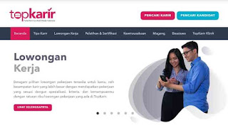 Website top karir