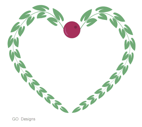 Christmas Wreaths Clipart Freebie by GradeONEderfulDesigns.com