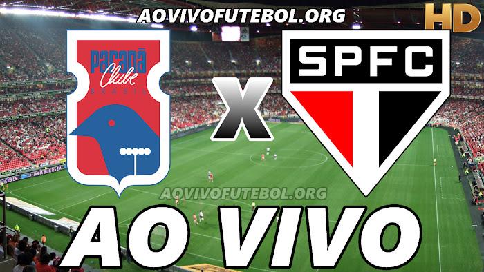 Paraná x São Paulo Ao Vivo na TV