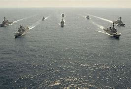 Indian, US navie forces lead drills in Indian Ocean in the midst of fringe line with China