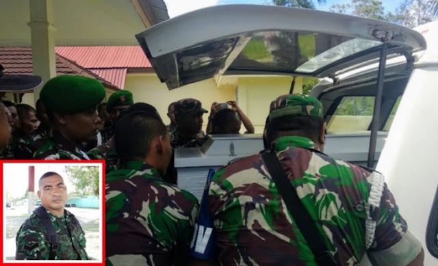 Lagi, Prajurit TNI Gugur di Papua Ditembak KKSB Ketika Hendak Sholat Subuh