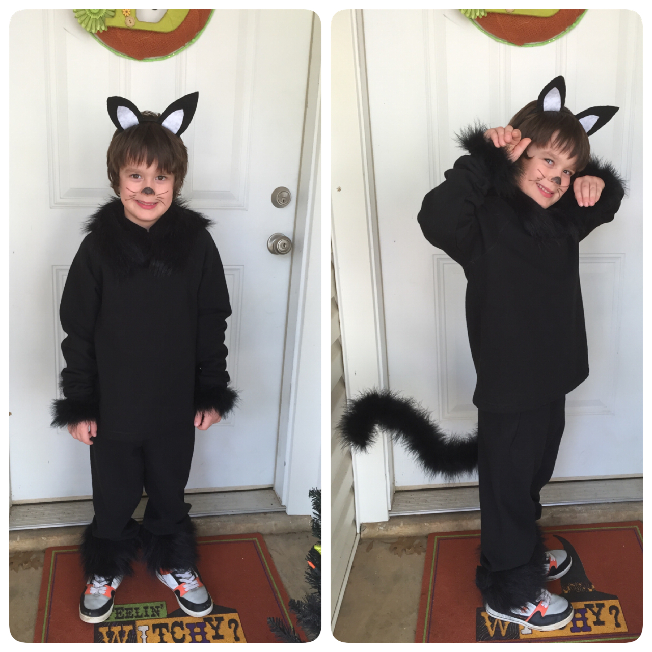 Healthy Momma Talk: DIY: Binx Cat Costume