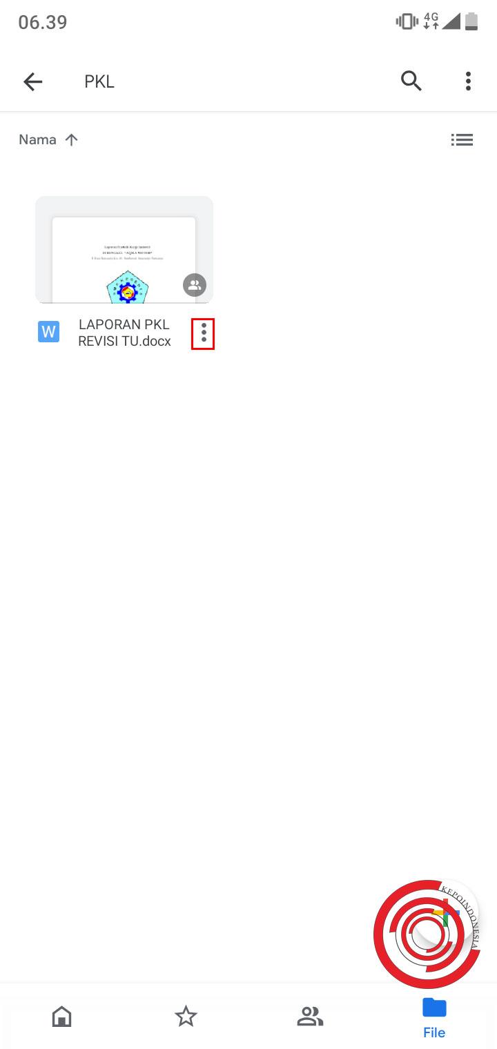 Cara Share Link Google Drive Lewat Aplikasi Di Android Dengan Mudah Kepoindonesia