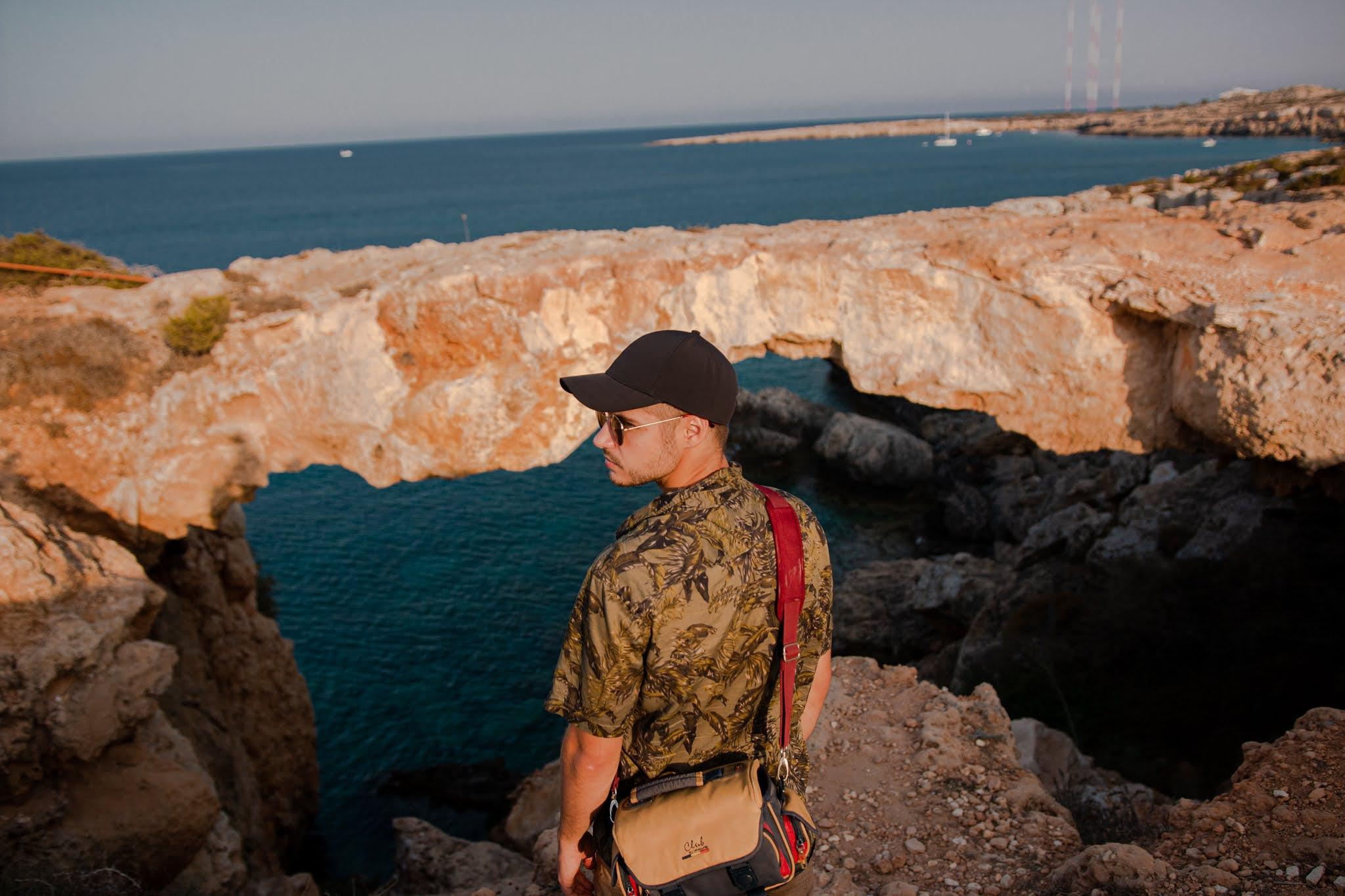 Skalny most na Cape Greco, Cypr, co zobaczyć na Cyprze