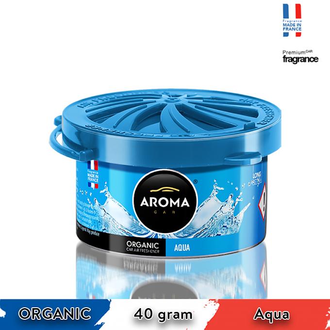 Sáp thơm ô tô Aroma Car Organic 40g - Aqua