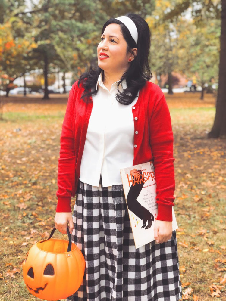 A Vintage Nerd, Vintage Blog, Retro Lifestyle Blog, Retro Fashion Inspiration, Hairspray the Movie, Link Larkin, Tracy Turnblad Costume, Welcome to the 60's, Hairspray 1988, Tracy Turnbland Halloween Costume, Sixties Inspired Fashion, Lady in Red, Sixties Retro Style, Bouffant Hairstyle, Hairspray Costume, Disabled Fashion, Living with CMT, Charcot Marie Tooth Disease Fashion