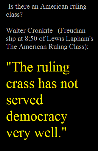 America's Ruling Crass