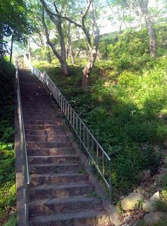 休暇村南淡路 抜け道の階段
