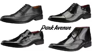Park Avenue Men's Formal Leather Shoes – Flat 60% Off @ Amazon