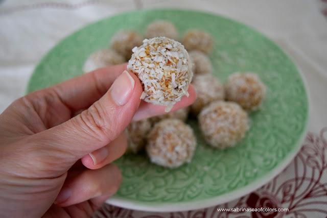 Snack de calabaza y coco ¡sin azúcar!