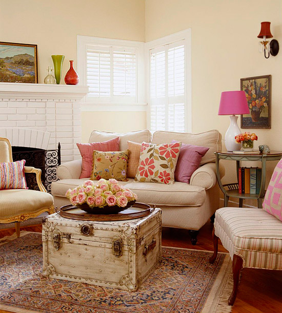 Fresh Living Rooms Decorating Ideas 2011 for Summer | Home ...