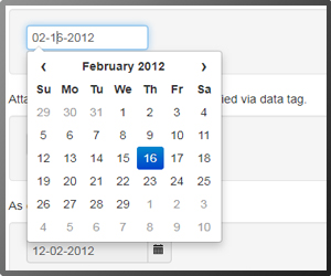 Date Picker Bootstrap