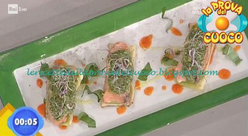 Salmone in doppia crosta ricetta Bottega da Prova del Cuoco