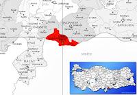 Polateli ilçesinin nerede olduğunu gösteren harita