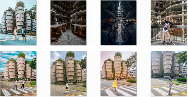 Get lost in the dimsum basket-shaped building in Singapore