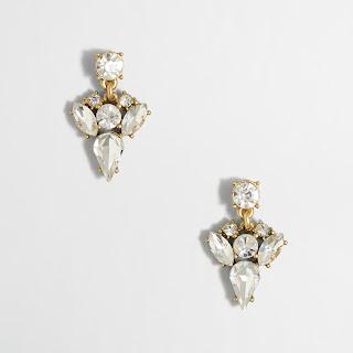 Crystal Arrow Drop Earrings $7 (reg $27)
