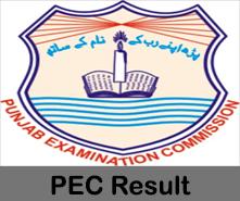 PEC 5th Class Result