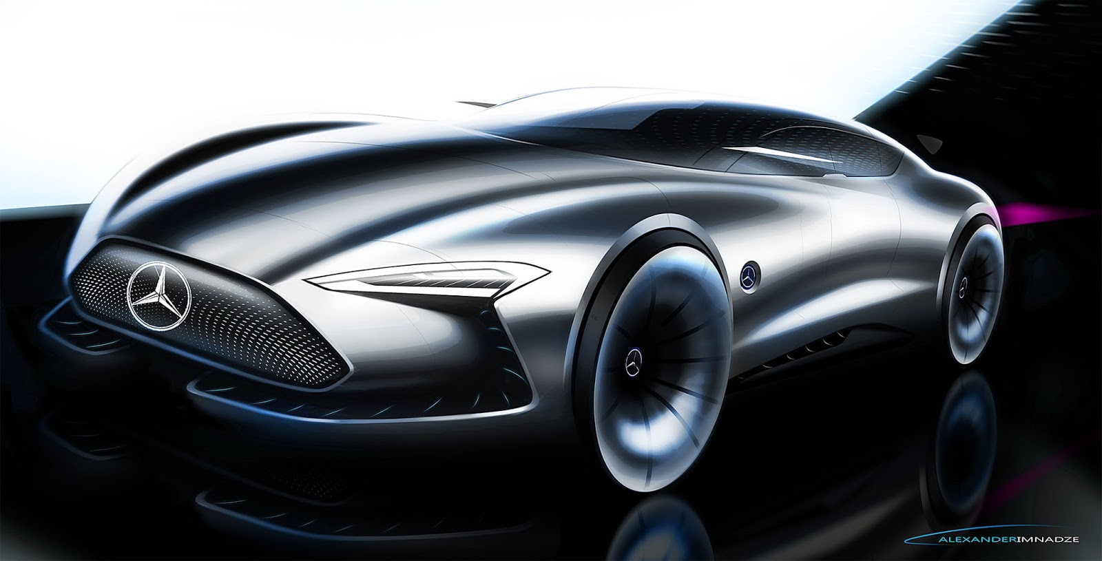 Concept car design for Coupe architecture