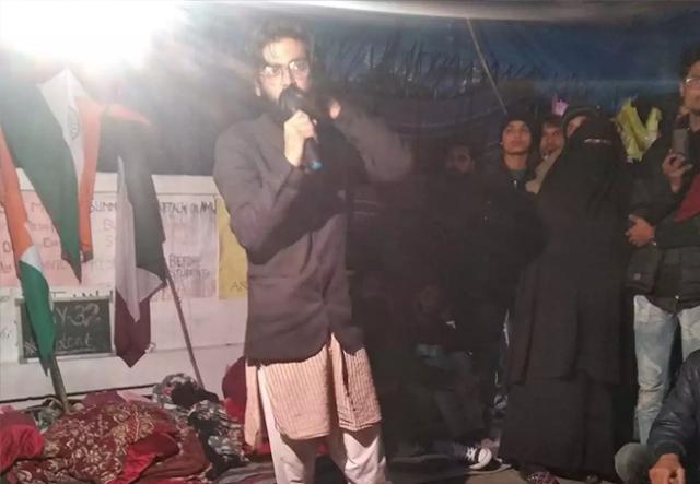 Sharjeel Imam,  Sharjeel Imam arrested,jnu