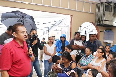 Se compromete Martín de la Cruz Gómez hacer un plan efectivo de prevención a favor de la gente
