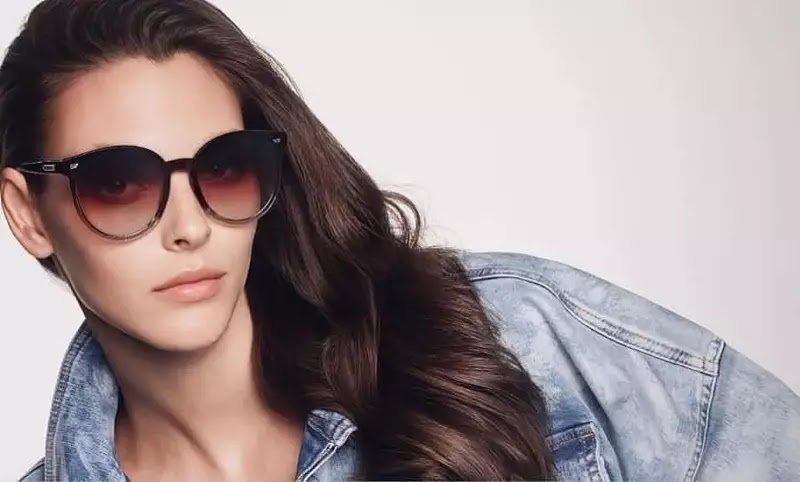 Bolon Eyewear Spring/Summer 2020 Campaign featuring Vittoria Ceretti