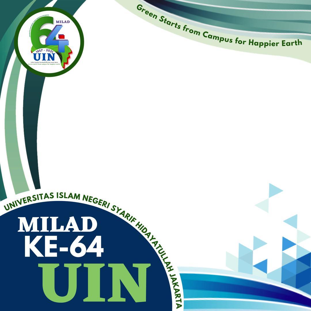 Link Desain Twibbon Milad ke-64 UIN Jakarta 2021