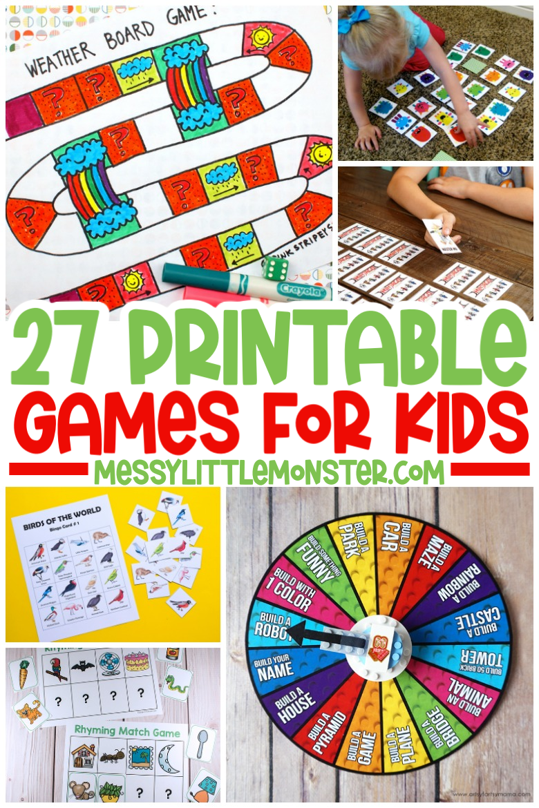 fun printable games for kids to play indoors