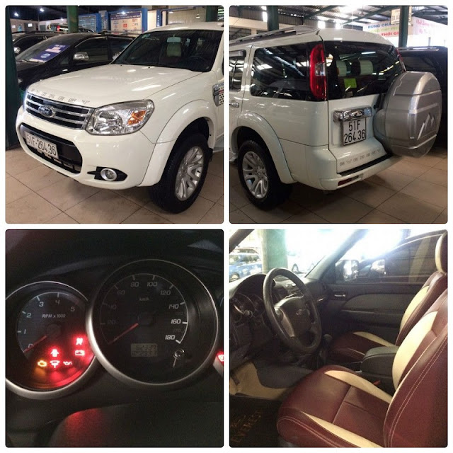 ban xe ford everest cu chinh hang  -1