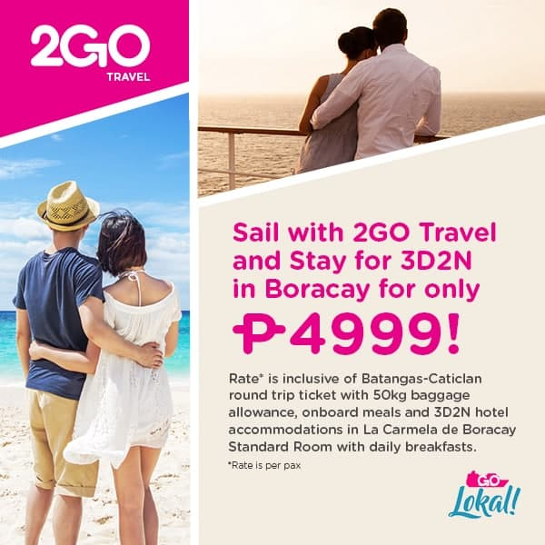 Cheap and Affordable Boracay Package for only ₱4,999
