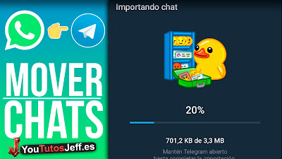 mover chats de whatsapp a telegram