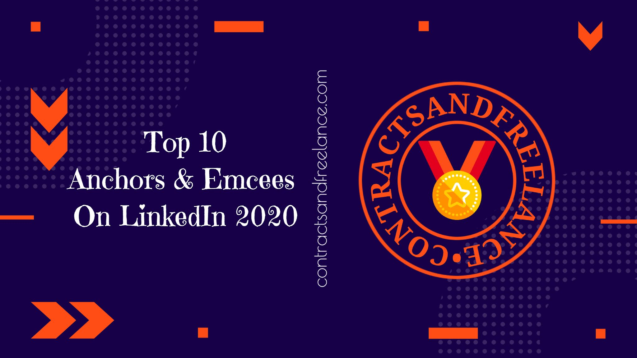 Top 10 Anchors and Emcees On LinkedIn, Best Corporate Event Hosts and Show Presenter, Best Anchors and Hosts, Best Corporate Presenter and Hosts