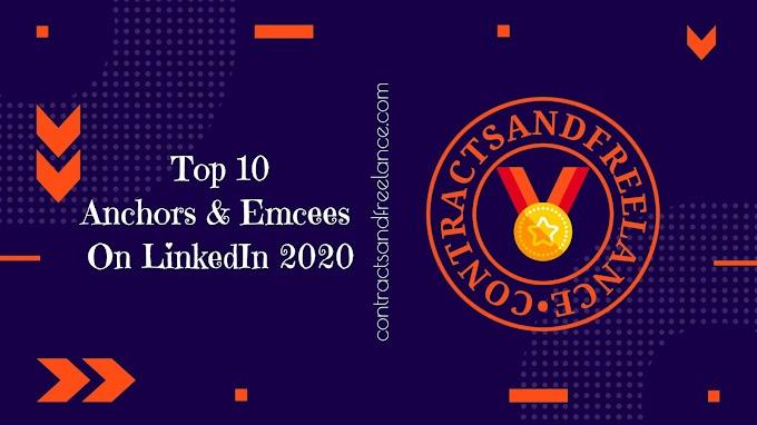 Top 10 Anchors & Emcees On LinkedIn | 2020