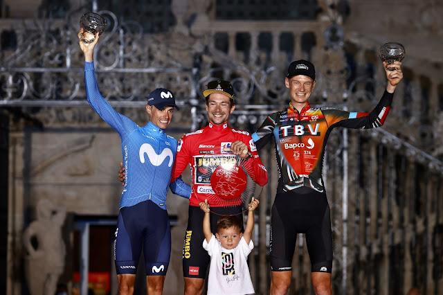 Primoz Roglic é tricampeão da Vuelta a España - Foto: Photo Gomez Sport