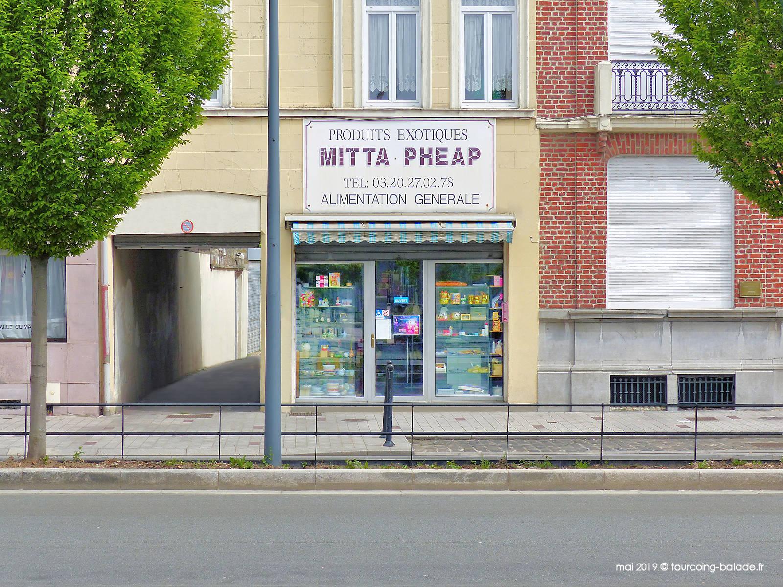Mitta Pheaps Produits Exotiques, Tourcoing