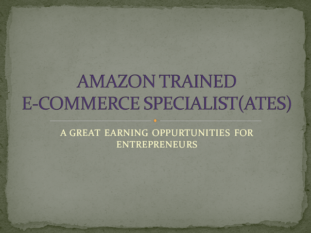 how to apply for amazon trained e-commerce specialist(ATES)